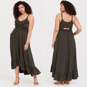 Torrid Jersey High Low Maxi Dress